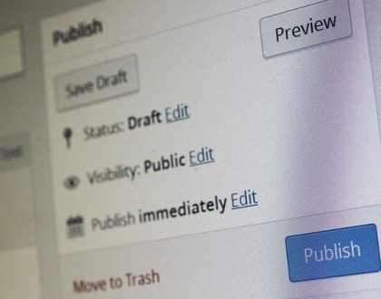 Easy to edit and publish articles using Wordpress